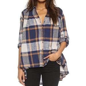 Free People Urban Outfitters Peppy Plaid